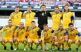 Фото Укринформ:сборная Украины