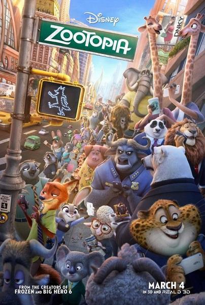Film Zootopia 2016 Bioskop