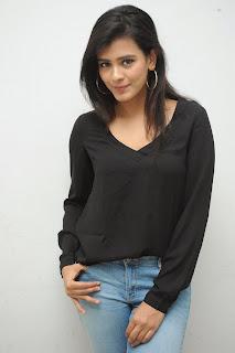 Hebah Patel glamorous Pictures in black 030.jpg