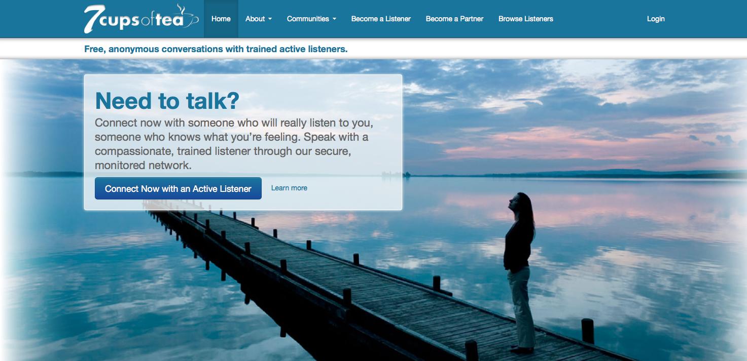 你的「脆弱」跟谁分享?硅谷推出「倾听服务」提升快乐指数| 聊天 第2张