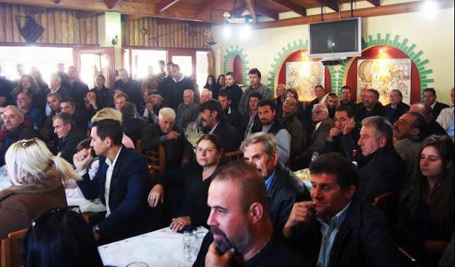 Πλήθος κόσμου στα εγκαίνια του νέου αγροκτηνοτροφικού σωματείου της Χρυσής Αυγής στην Κορινθία - Φωτορεπορτάζ, ΒΙΝΤΕΟ