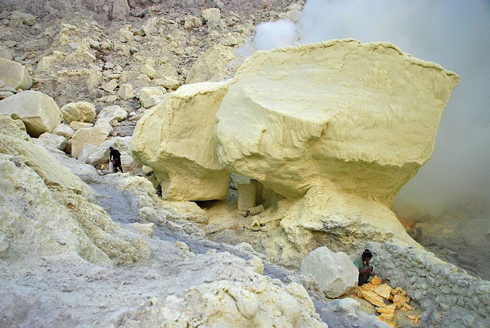 Rocas de azufre