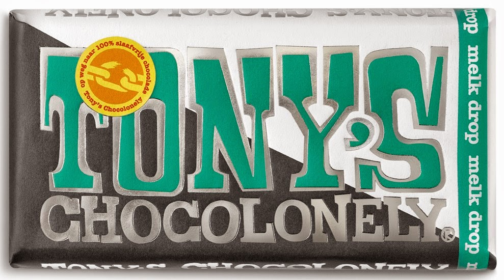 Tony's Chocolonely 'melk drop'