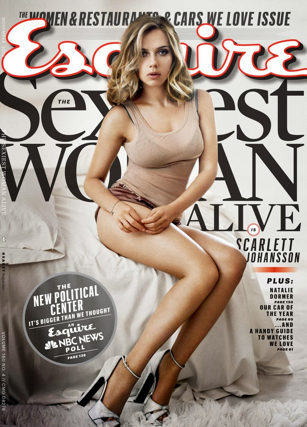 Scarlett Johansson es la mujer más sexy del mundo