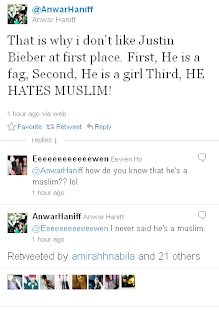 Justin Beiber Racist 2