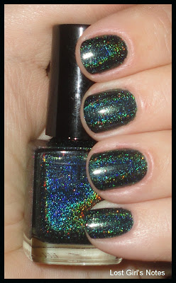 3d glitter gal lizard belly swatches and review