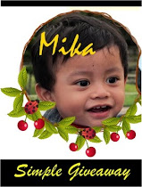 menang 1st prize : mika simple giveaway