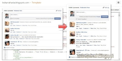 membuat facebook comment dan like box responsive