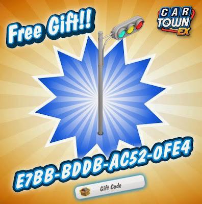 Car Town EX Free Gift Semaforo