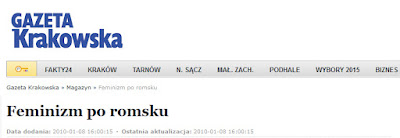 http://www.gazetakrakowska.pl/artykul/206405,feminizm-po-romsku,id,t.html