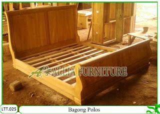 Tempat Tidur / Dipan Klender Bagong Polos