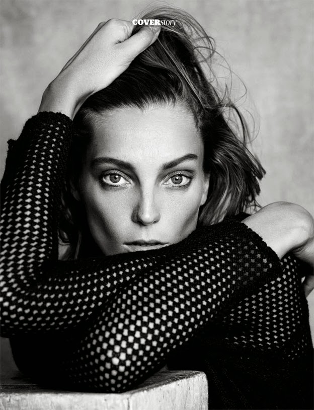Daria Werbowy para Madame's Figaro November 1st Issue