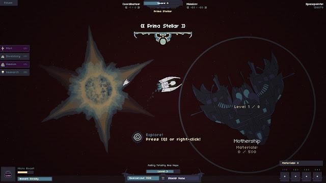 Explora el cosmos en RymdResa, una odisea espacial cuyas partidas son siempre diferentes
