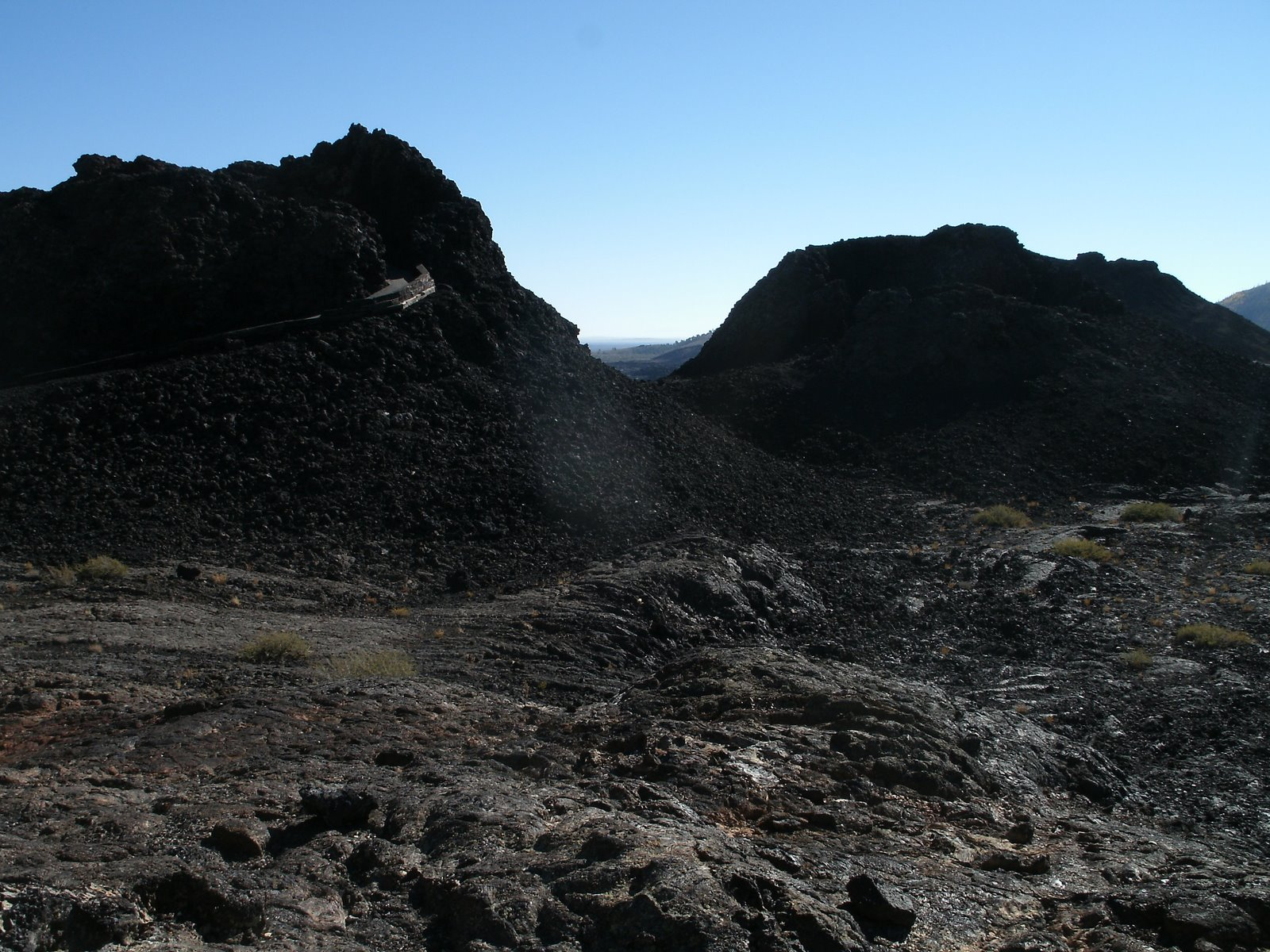 Cave Trail at Craters of the Moon National Monument and ...