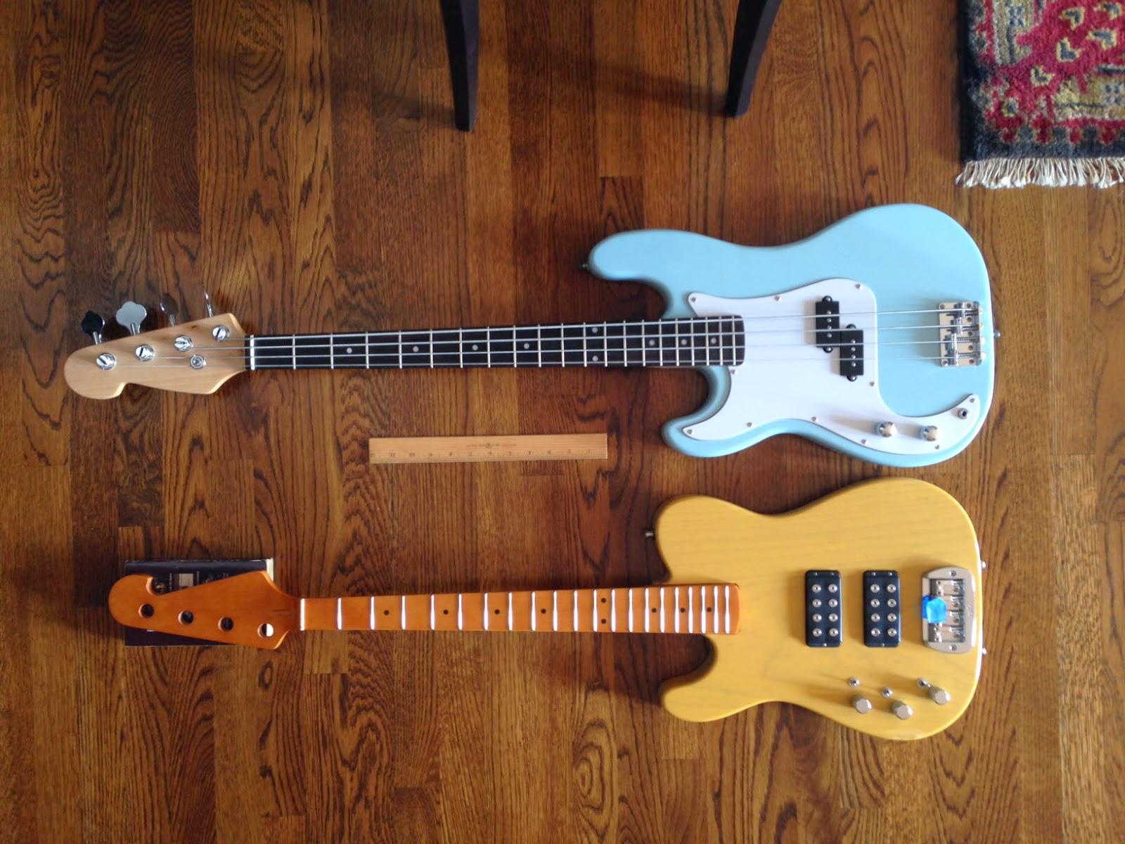K6jca Building A Lefty Short Scale Tele Bass