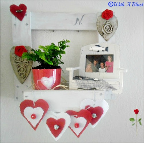 Valentines Wall Display Box www.withablast.net