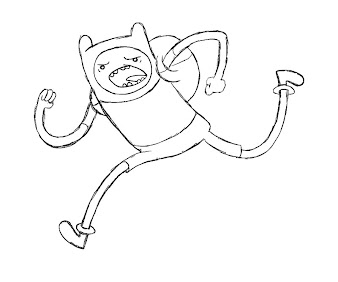 #3 Finn Coloring Page