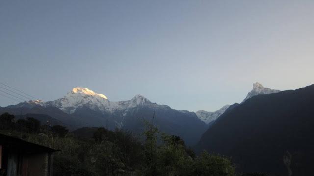 View from Ghandruck ( ghorepnai . ghandruck Trek)