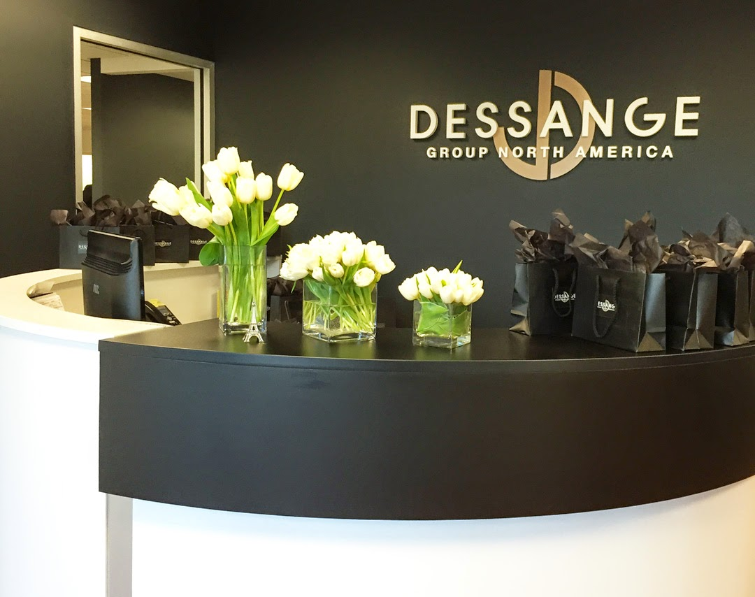 White light visual reception area of dessange group north america styled for the grand opening location 500 cummings center in beverly massachusetts reviewsmspy
