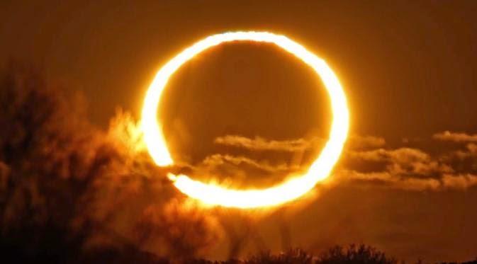 Saksikan Gerhana Matahari Ring of Fire Hari Ini