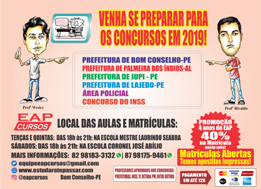 EAP Cursos – Curso Preparatório para Concursos.
