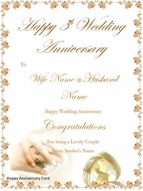 word templates  happy anniversary cards