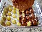 Prajitura cu branza ciocolata cocos preparare reteta