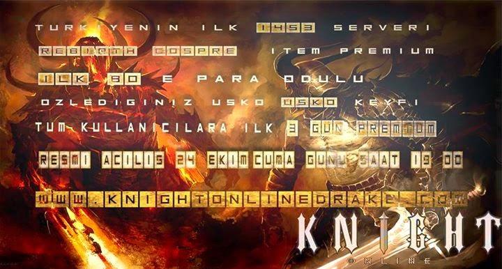 Knight Online DrakeKO Myko Pvp Server