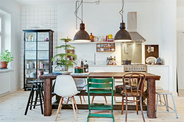my scandinavian home: Old meets new in a Stockholm home