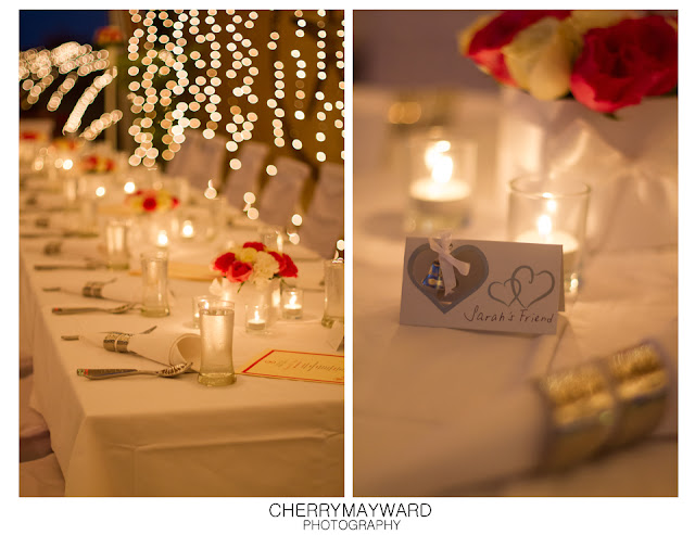 Beach Republic, Koh Samui wedding details and reception decoration.