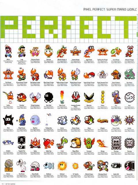 super mario world pixel