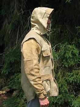 Custom Buckskin Jacket