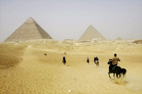 most famous unsolved mysteries of the world Ancient Pyramids in Giza, Egypt