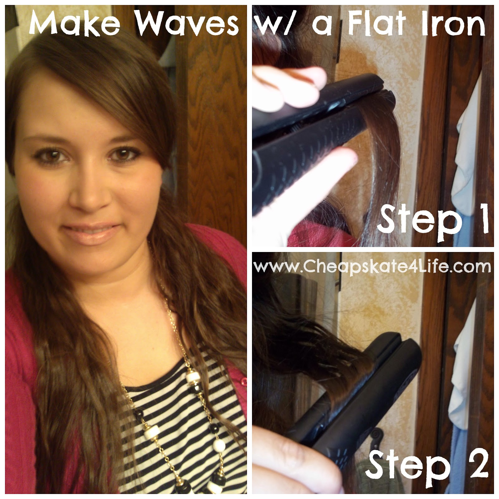 How to Make Wavy Hair With Flat Iron