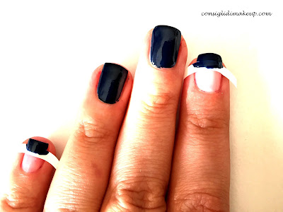 nail art tutorial capodanno