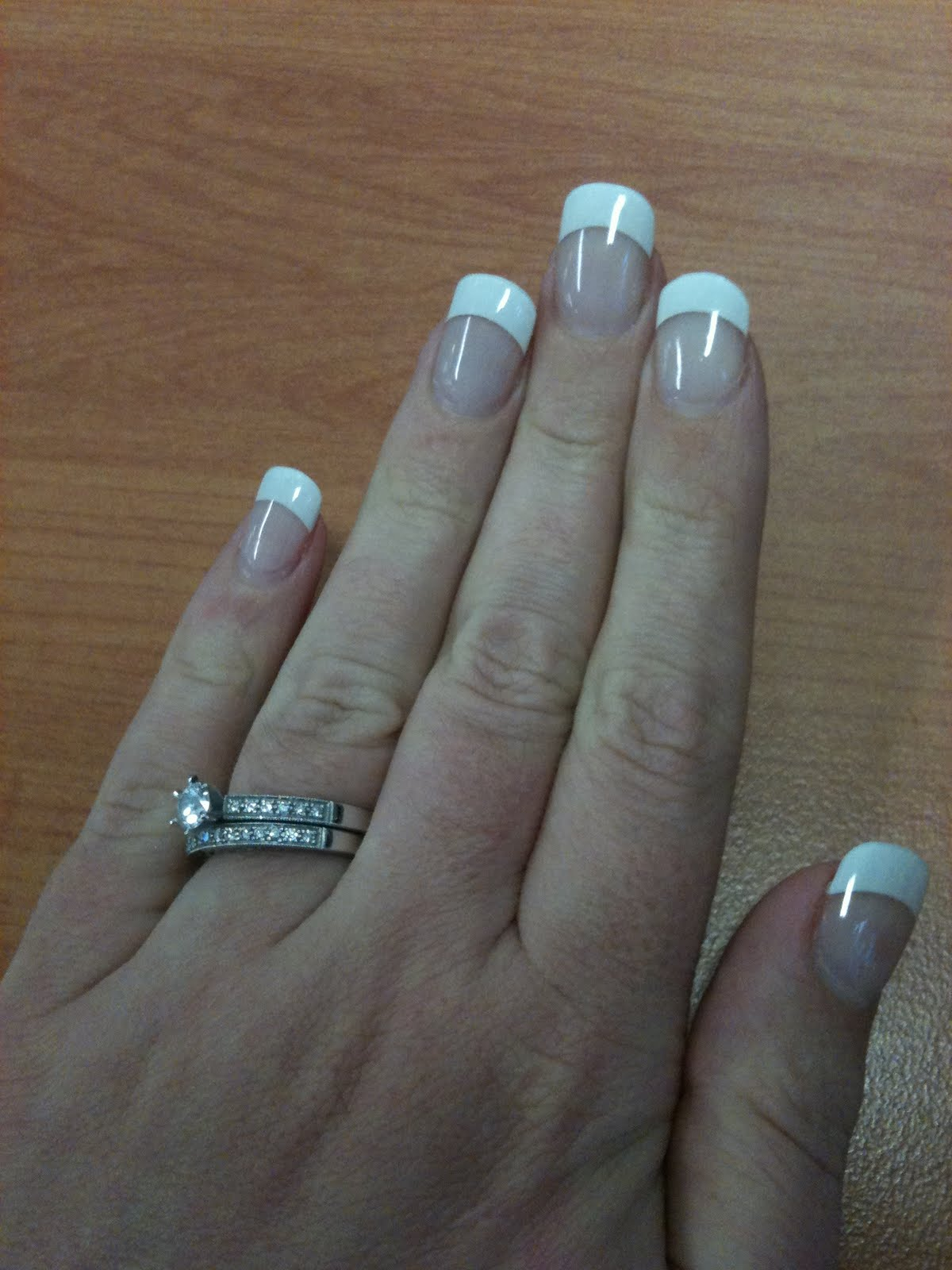 MsSparkleArkle: French Manicure with Gel Nails