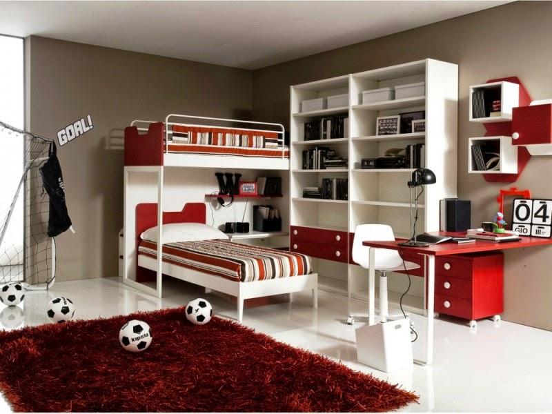 15 contoh desain kamar tidur anak laki laki design rumah