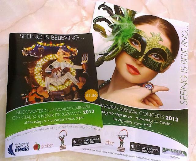 Bridgwater Carnival Programmes