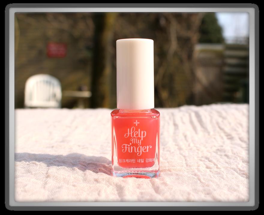 Jolse order Korean cosmetics haul review 2015 skincare beauty blogger Etude House Help My Finger Pink Keratin Nail Strengthener