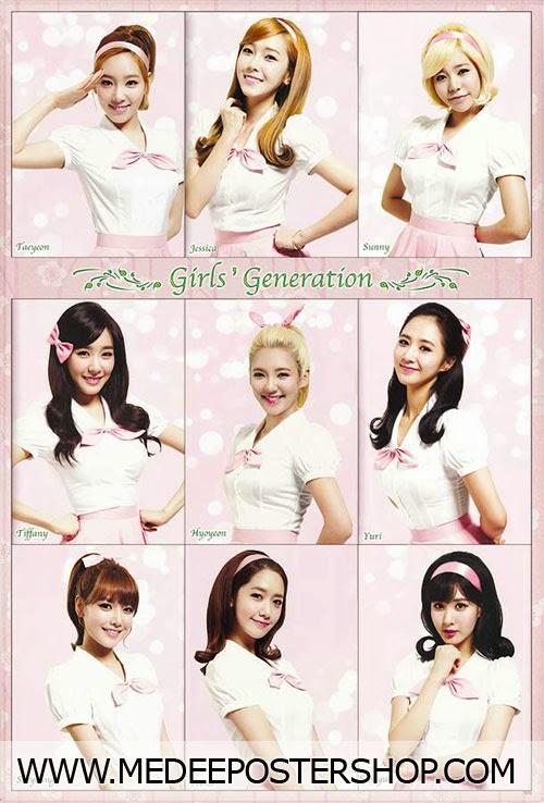 Girls' Generation Wolrd Tour Concert Poster