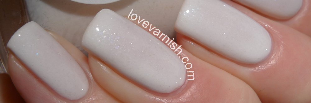 LilypadLacquer White Diamonds