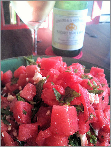 ... Watermelon and Feta Salad is from Alice Storey's fantastic 200 Super