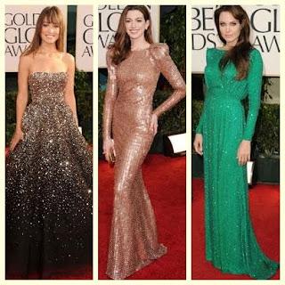 Famosas de vestidos