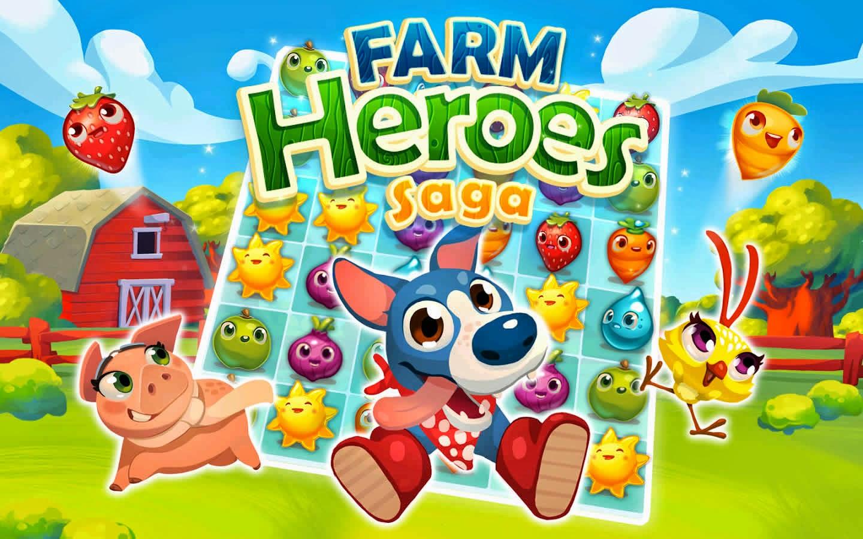 Farm Heroes Saga v2.3.9 Android Hile Mod Apk İndir