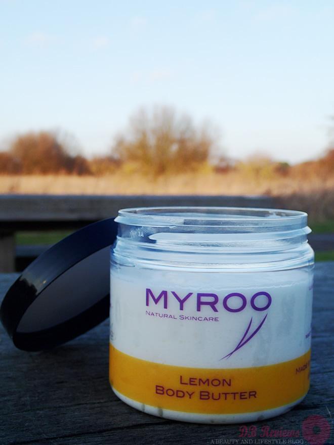 Myroo Lemon Body Butter