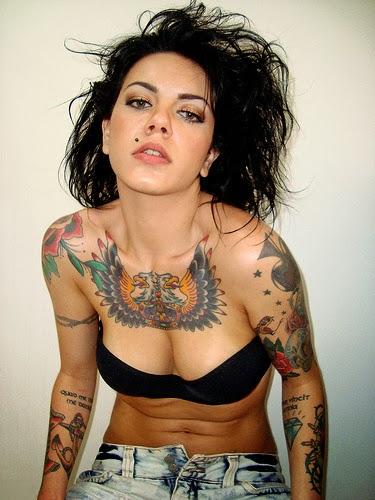 Tatuagens Variadas Tatuagens De Aguia Femininas