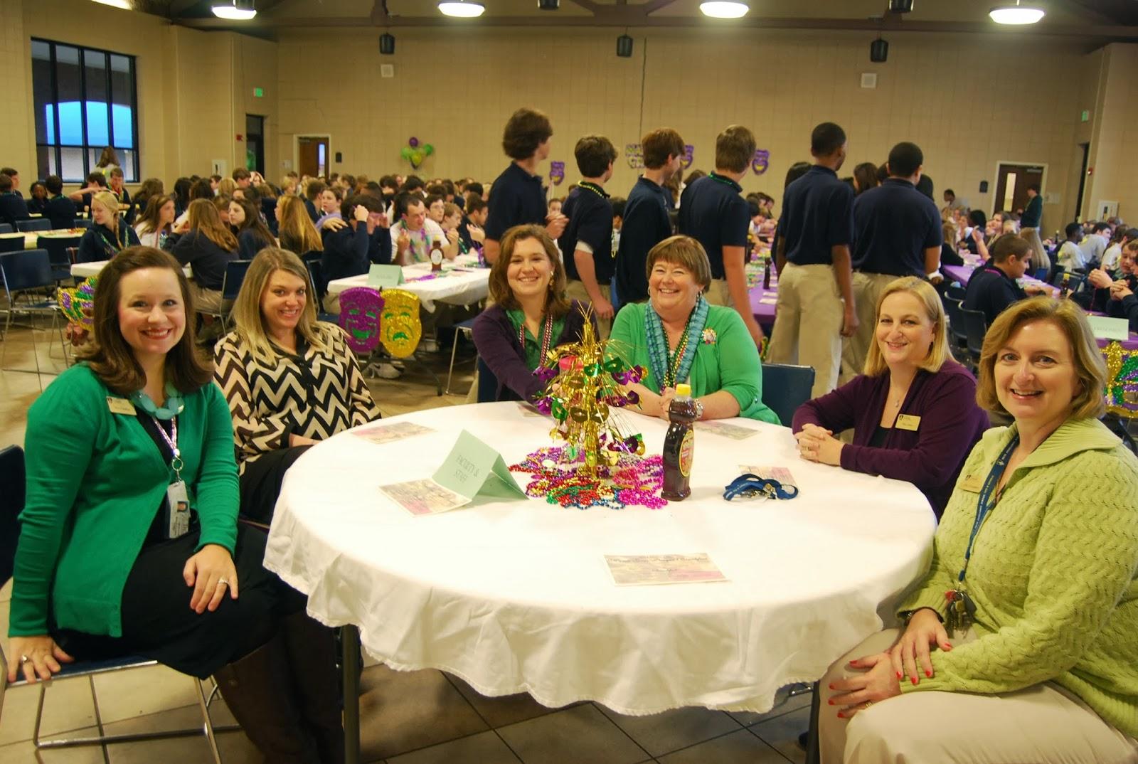 Montgomery Catholic Juniors Host Annual Mardi Gras Prayer Breakfast 1