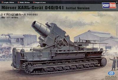 Inilah Karl-Gerät, Monster Penjebol Bunker Pada Perang Dunia II