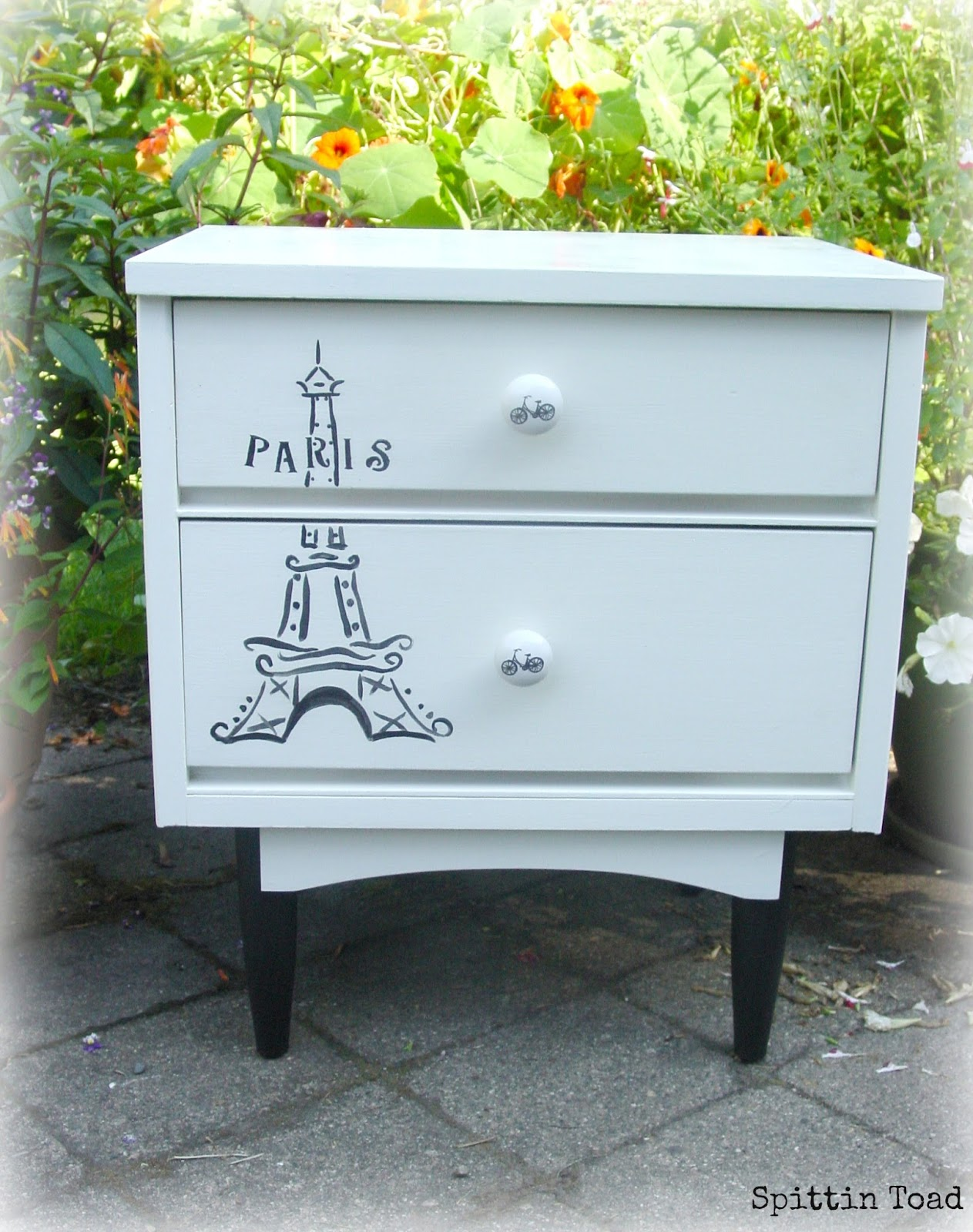 Eiffel Tower Side Table / Night Stand