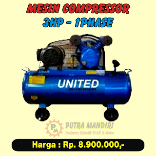 COMPRESSOR 3HP-1PHASE